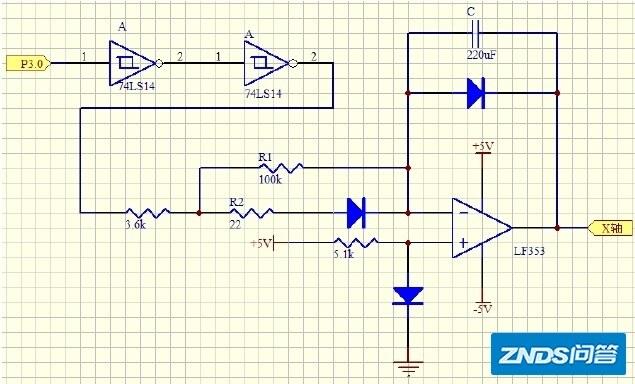 模拟示波器通常是什么样的架构什么系统,如何编程(有人在日立v-422上