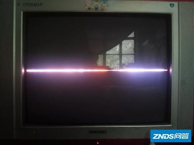 老式电视机坏了,只剩下一根红线该如何修?